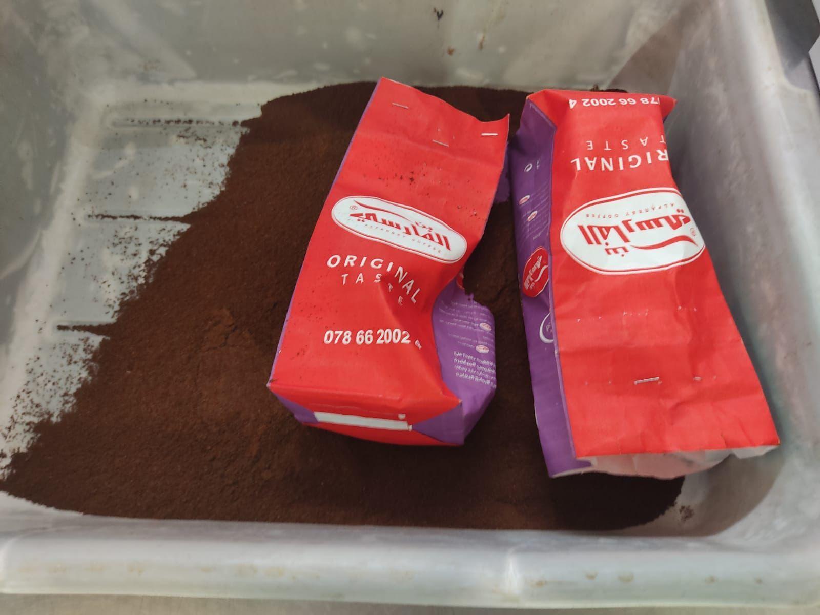 שוטרים ועובדי המכס ברשות המסים נדהמו לגלות קוקאין במקום קפה